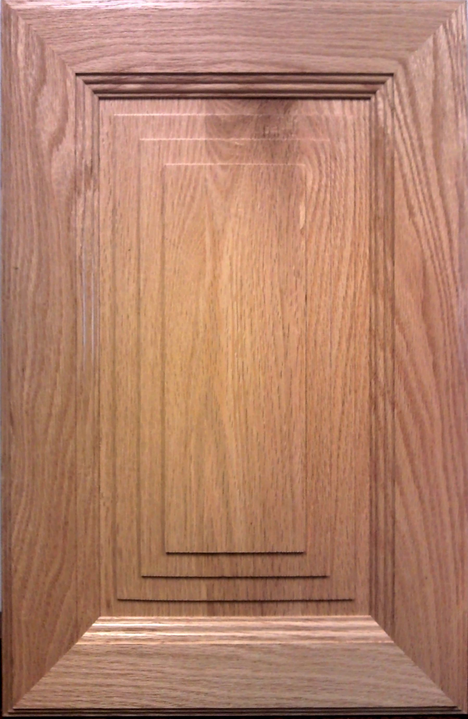 Sunset cabinet door