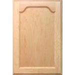 The Cougar Kitchen Cabinet Door has a single-arch