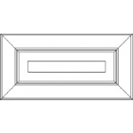 Pinnacle 5 Piece Drawer Front