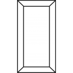 Ramona Glass Ready Cabinet Door