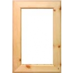 Ranchero Glass Ready Cabinet Door