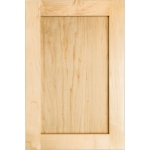 Our Shaker Cabinet Door is available in all 14 wood types we offer.